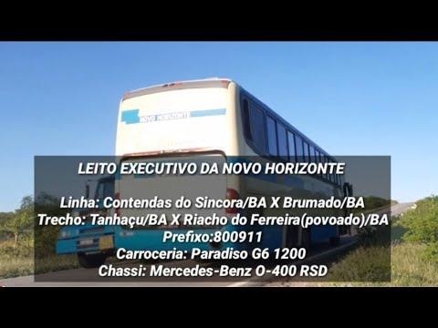 VIAJANDO NO LEITO EXECUTIVO DA VIAÇÃO NOVO HORIZONTE