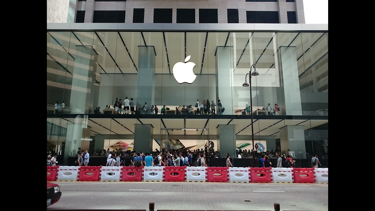 [Apple Store] - 30-07-2015 蘋果廣東道分店開幕現場直擊-Apple Store at Hong Kong Canton Road - YouTube