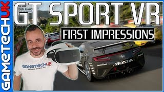 Gran Turismo Sport PSVR -- First Impressions Review