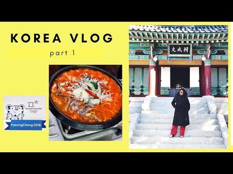 PYEONGCHANG 2018 || Getting Ready for the Olympics!! | KOREA TRAVEL VLOG
