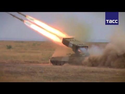 """Тяжелые огнеметы ТОС-1А """"Солнцепек"""" выжгли 60 тысяч квадратных метров"""