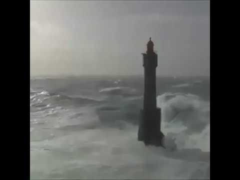 Bell Rock light house coast of Angus #Scotland