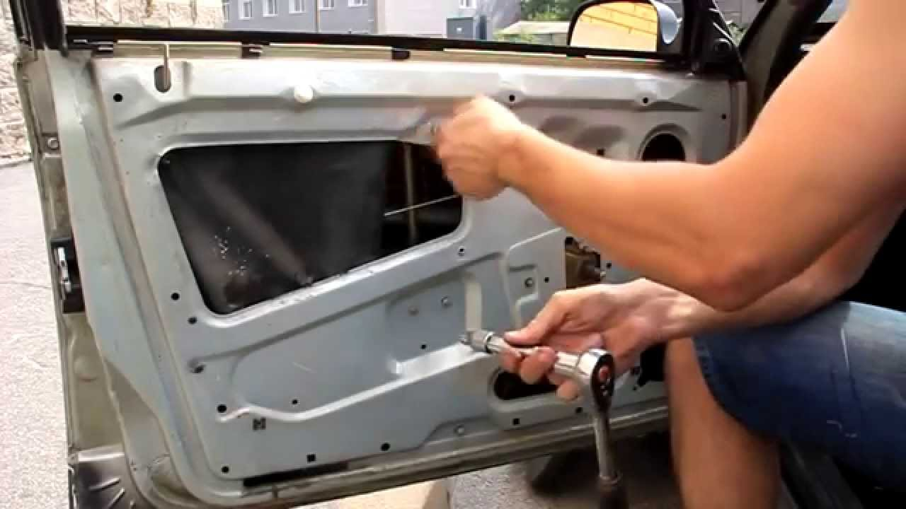 Установка Электрических Стеклоподъёмников на ВАЗ 2107 05 04