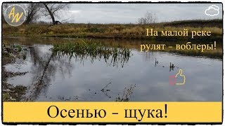 Щука. Малая река удивляет! Рыбалка на спиннинг