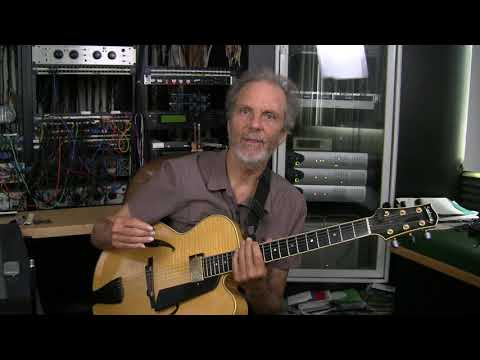 Two Minute Jazz Guitar #4: Pentatonic Fourths over A minor 7