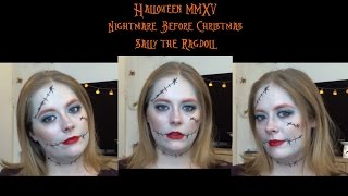 Halloween 2015 Nightmare Before Christmas Sally the Rag Doll