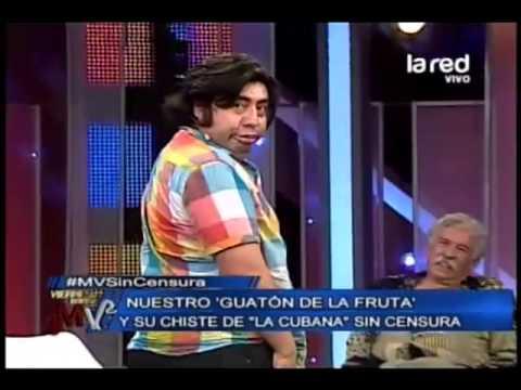 """Gustavo Becerra y el chiste de """"La Cubana"""" en el viernes sin censura"""
