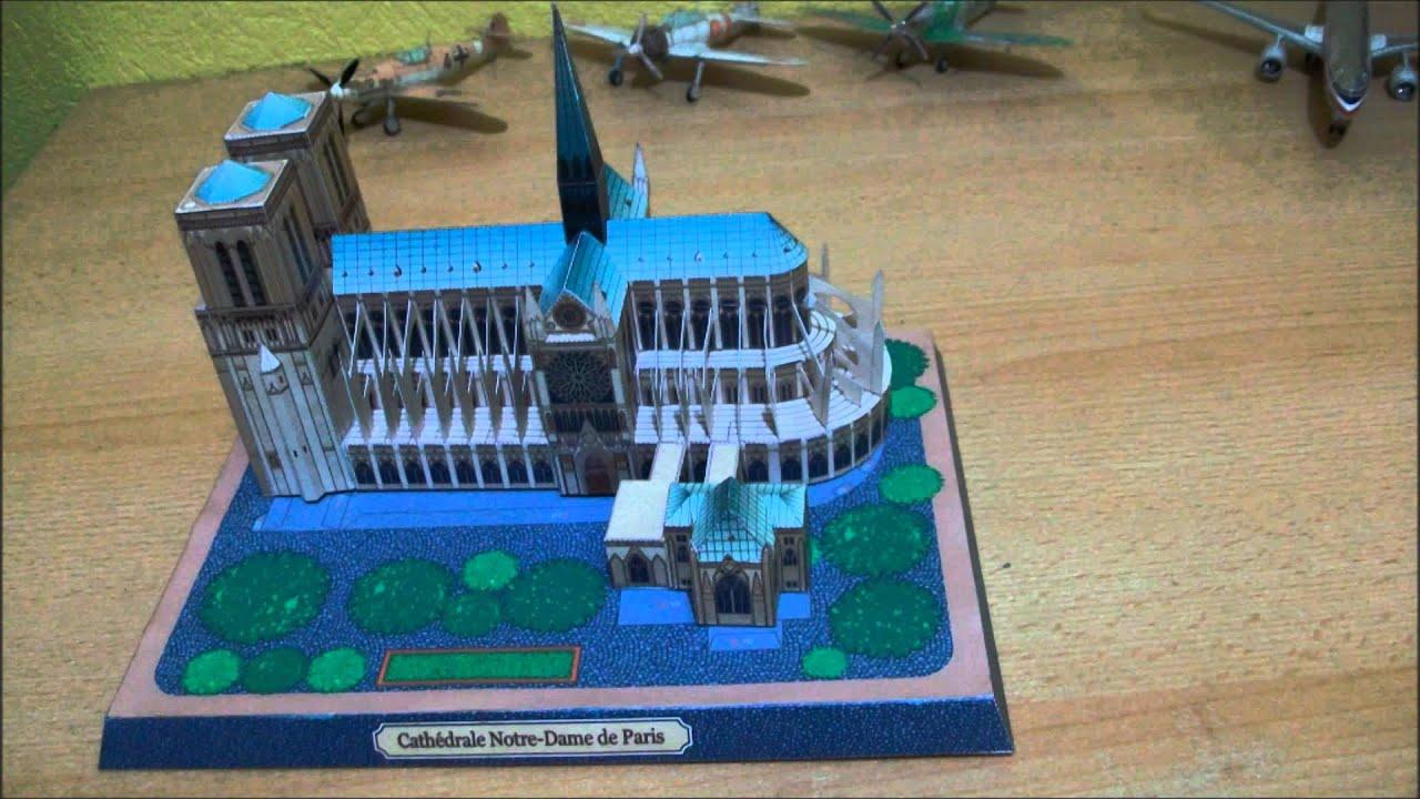Papercraft Notre Dame de Paris Papercraft