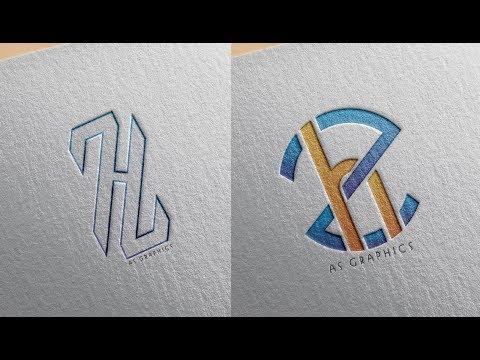 logo Design Tutorial | ZH - HZ Logo Design in - Coreldraw x7 thumbnail
