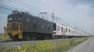 東武50090型51092編成 甲種輸送