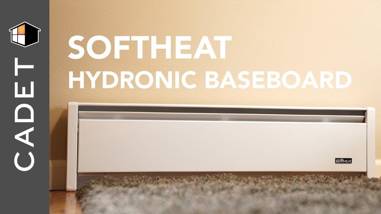 Softheat Hydronic Baseboard Heater Cadet Heat Youtube