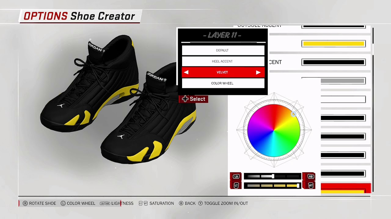 NBA 2K18 Shoe Creator - Air Jordan 14