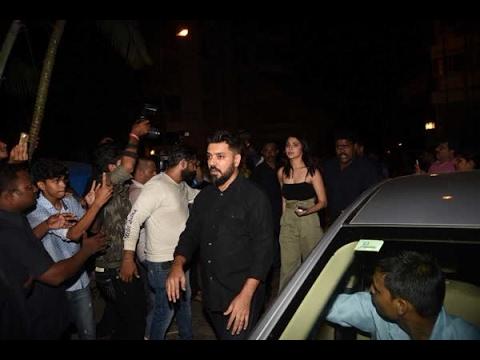 In Graphics: Anushka Sharma attends Karan Johar's 45th birthday bash