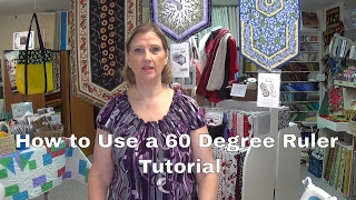 How to use a 60 degree ruler