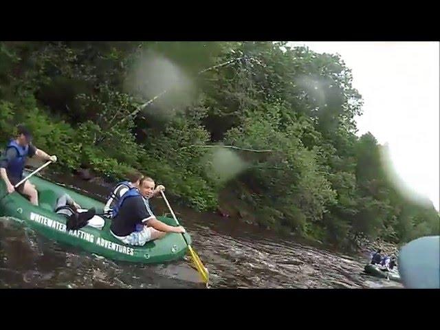 Ukrainian Rafting on the Lehigh River. June 8, 2013