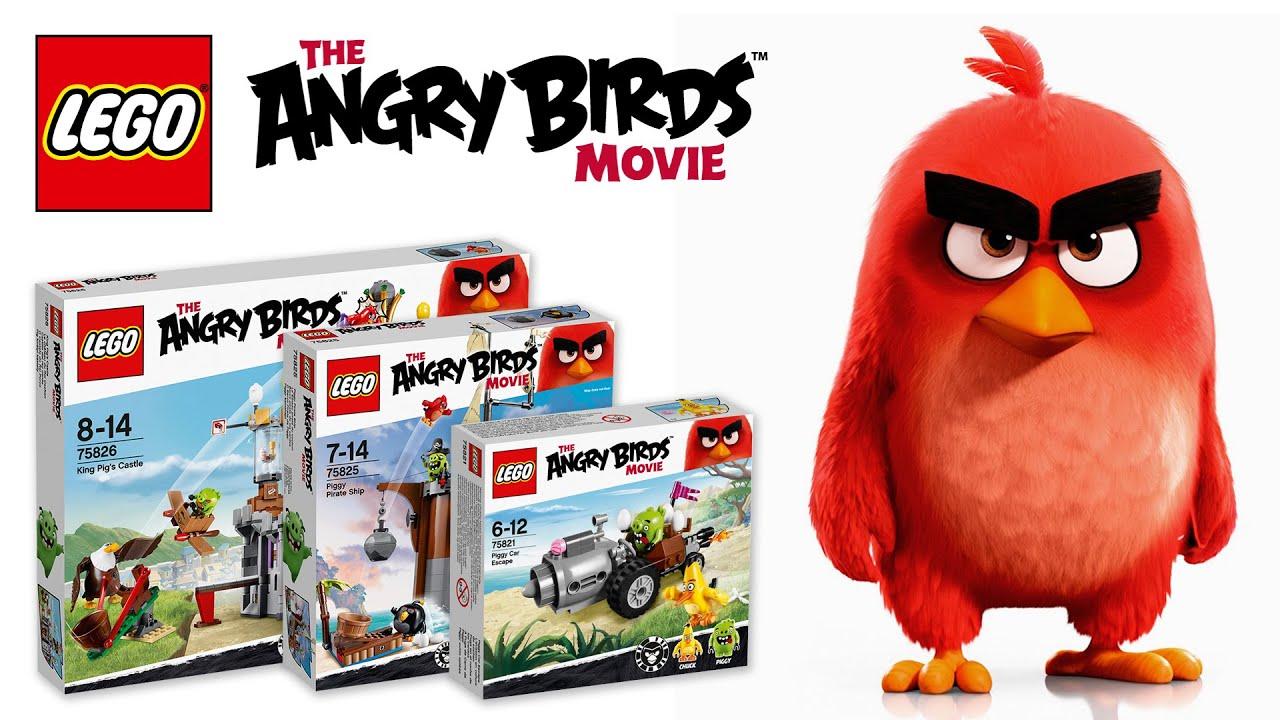 LEGO Angry Birds készletek - Videó bemutató. LEGO Store Budapest 6872cc6835
