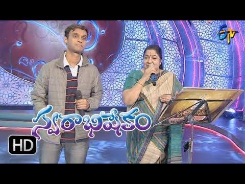 Seetamma Vakitlo Song|Chitra,Krishna Chaitanya Performance|Swarabhishekam | 21st January 2018 | ETV