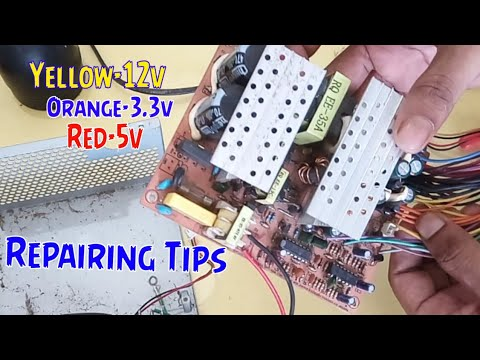 Computer ATX Power Supply Repairing tips step by step
