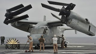 Bell Boeing V-22 Osprey - US Military Transport Aircraft [Review]