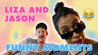 Download JASON NASH AND LIZA KOSHY FUNNY MOMENTS Mp3 and Videos