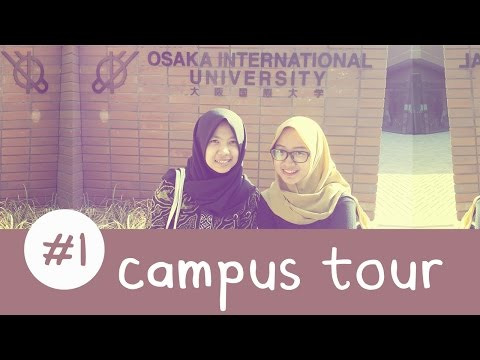 Osaka International University Campus Tour!