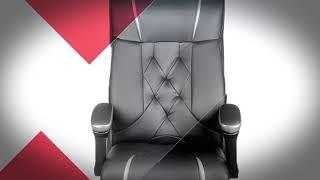Классическое мягкое кресло Barsky Design [Обзор офисного кресла]
