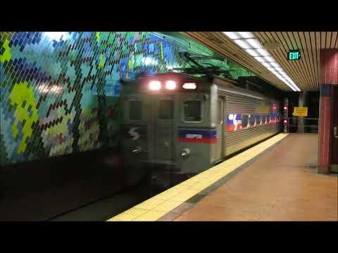 TVS-SEPTA Trains: Peak Hour at Jefferson Station