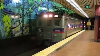 TVS-SEPTA Trains: Peak Hour at Jefferson Station