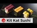 KITKAT SUSHI EDITION LIMITEE - BOUFFE JAP #70 - FAIT AU JAPON