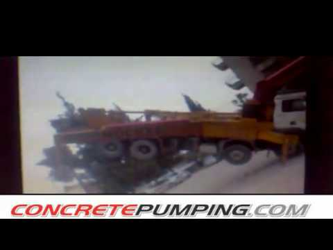 Accident de pompe a beton youtube - Pompe a teton ...
