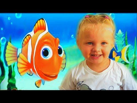 Рыбки игра аквариум для детей. Видео как мультик про Немо