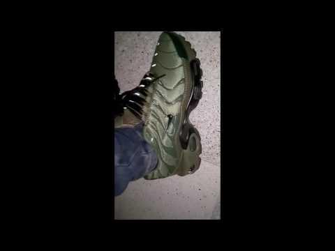 Inflar elevación guardarropa  nike Tn 2017 vert militaire - YouTube
