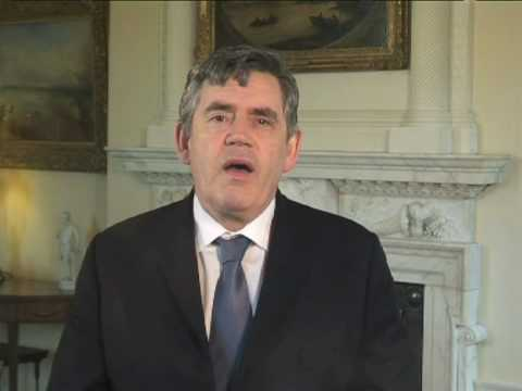 Message from Gordon Brown to the European Socialists