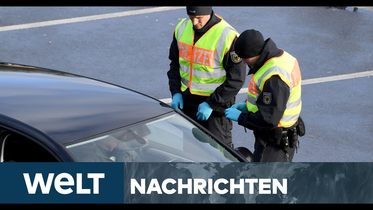 DEUTSCHLAND IN DER CORONA-KRISE: Bayern prescht voran - Katastrophenalarm und Grenzkontrollen
