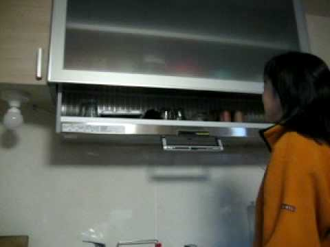 Amazing Japanese Kitchen Cabinet Technology