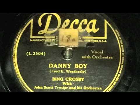Bing Crosby, Danny Boy