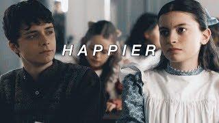 Diana and Gilbert | happier [au]
