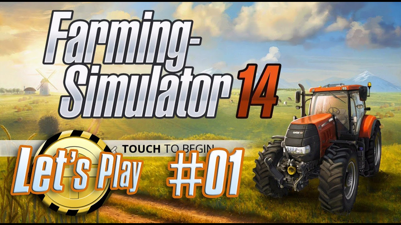 Let's Play: Landwirtschafts Simulator 14 #01 - Los geht's !