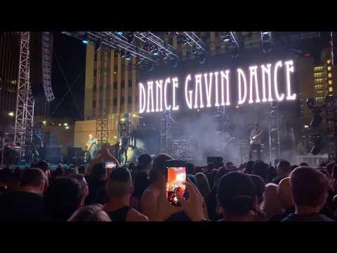 "Dance Gavin Dance ""Chucky vs. The Giant Tortoise"" Las Rageous 2019"
