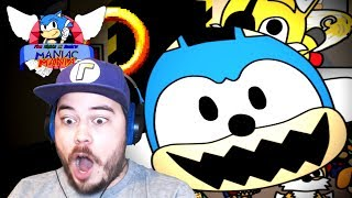 I WAS JUMPSCARED BY A SONIC PLUSHIE?? | Five Nights at Sonic's: Maniac Mania (Part 4)
