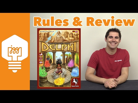 Oracle of Delphi Review - JonGetsGames
