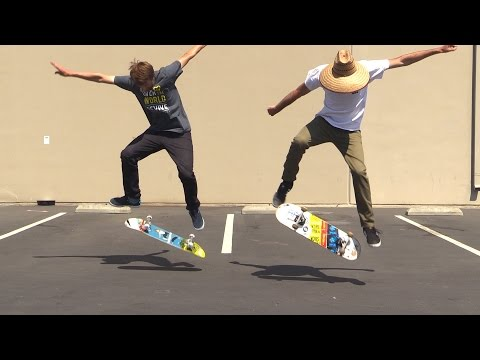 WHY SOME PEOPLE CAN LAND KICKFLIPS AND SOME PEOPLE CAN'T