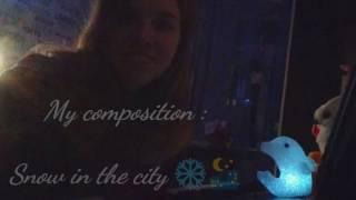 Зима в городе (собственное сочинение) || Piano Playing(Музыка моего собственного сочинения + импровизация. Композицию назвала