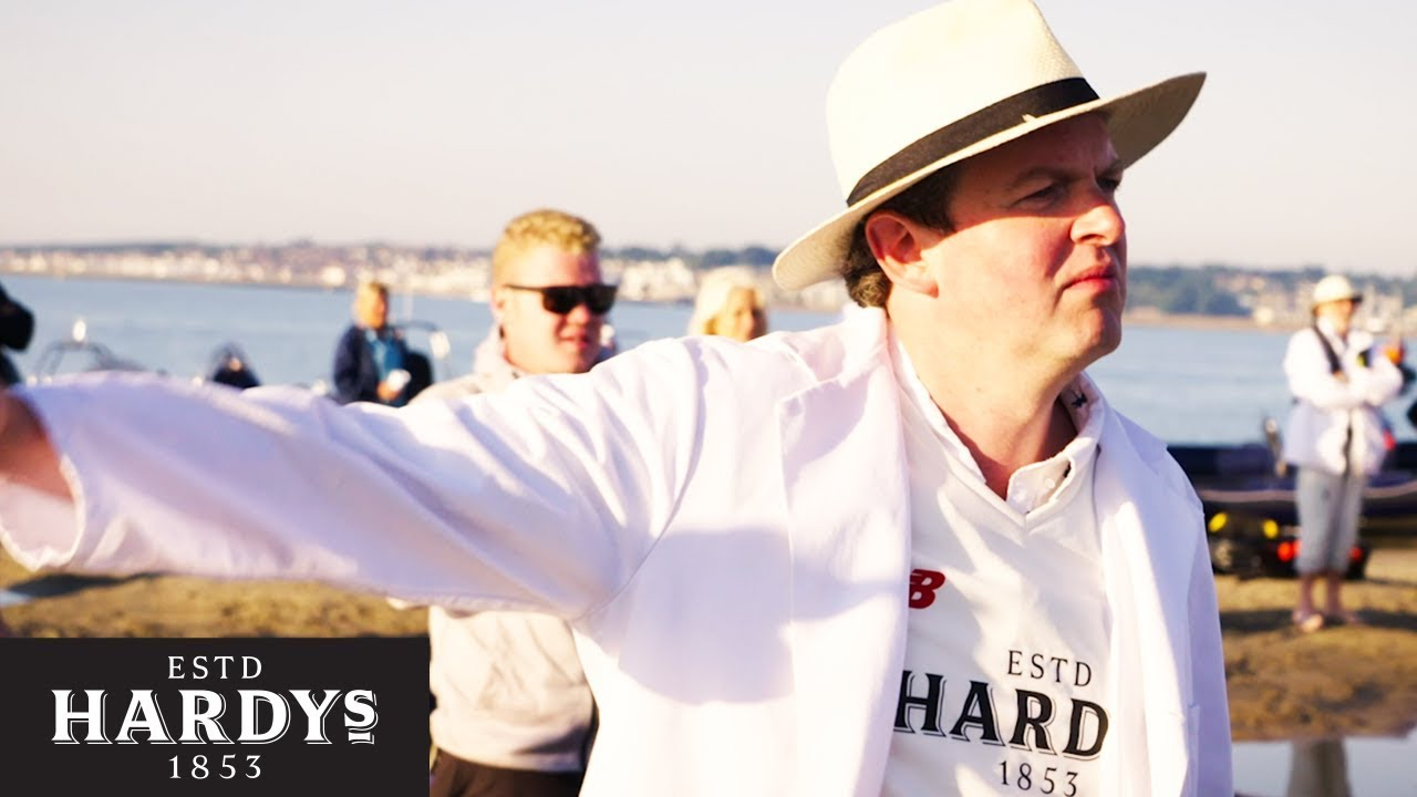 Stuart Broad & Miles Jupp Play Cricket On A Sandbank in the Sea   The Rules According To Hardys