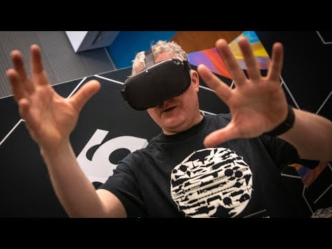 Oculus Quest Hand Tracking Demo and Impressions!
