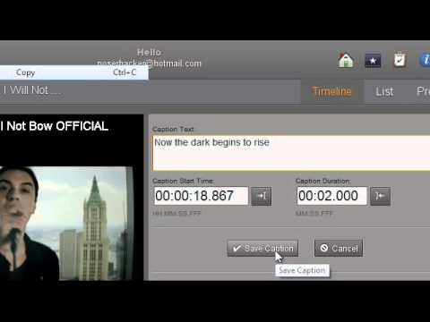 HOW TO ADD CAPTIONS OR LYRICS TO YOUR MUSIC VIDEOS