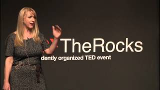 Leadership is upside down | Silvia Damiano | TEDxTheRocks