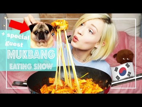 TTEOKBOKKI 떡볶이 😍   MUKBANG: Eating Show (Eating sounds)