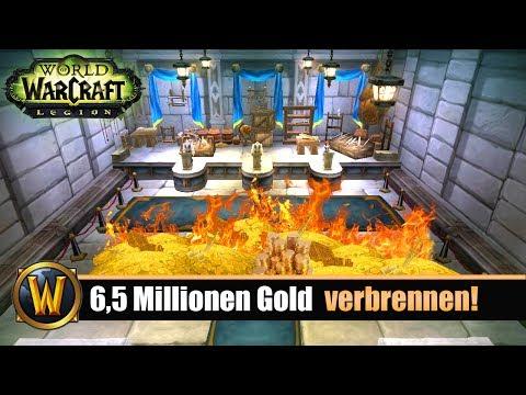 [WOW] 6,5 Millionen Gold im AH verbrennen! (server Trans)