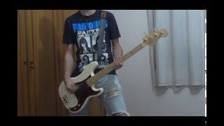 RAMONES 03-Judy is a Punk - Bass Cover